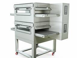 Конвейерная печь для пиццы (туннельная, двухъярусная)