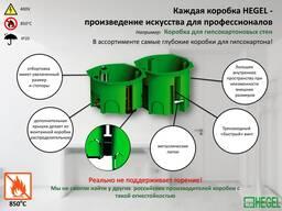 Подрозетники для монтажа в гипсокартон Elektro Potential