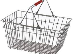 Корзина для покупателей ручная