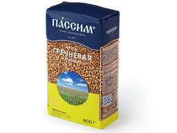Крупа гречневая алтайская 800 гр, мягкая упаковка (Россия)