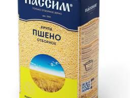 Крупа Пшено отборное Пассим, 800 гр, мягкая упаковка (Россия)