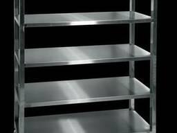Кухонный стеллаж из нержавеющей стали