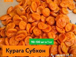 Курага Субхон высший сорт ( красный и Оранжевый)