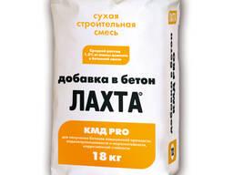 ЛАХТА добавка в бетон КМД PRO Водорастворимый состав для комплексного повышения прочности