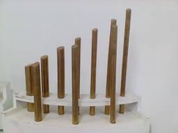 Латунные прутки марки ЛС 58-2 диам. 15мм