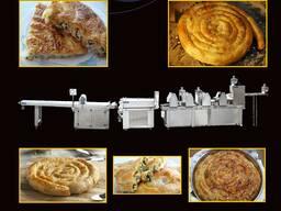 Линия по производству турецкого блюдо бёрек(börek).