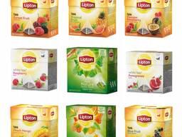Lipton - липтон - 100 - 50 -25 чай полный ассортимент