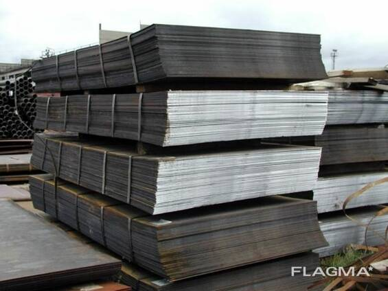 Лист стальной оцинкованный, от 0,4 мм до 2 мм (Казахстан)