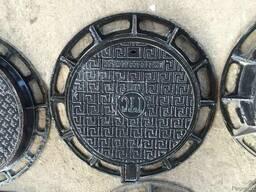 Люки канализационные чугунные тип Т С250 Межгосударственный