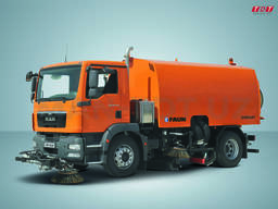 MAN- Подметальноуборочная машина TGM 18.240 4x2 BL Euro3