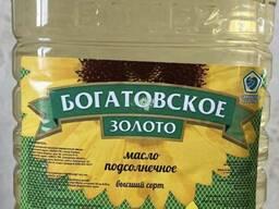 Масло подсолнечное, рафинированное