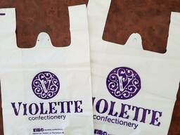 Майка пакеты с вашим логотипом