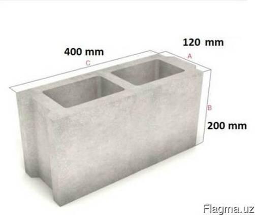 Межкомнатные стеновые бетонные блоки
