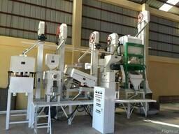 Мини завод для очистки риса