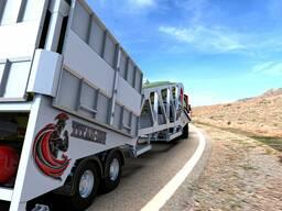 Мобильные бетонные заводы M-Titan 100