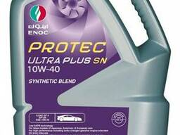Моторное масло protec ultra plus sn 10w40