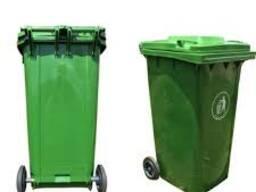 Мусорные баки пластиковые (контейнеры для мусора)