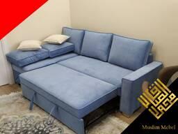 Мягкая мебель и уголки на заказ по европейскому стилю.