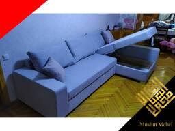 Мягкий угловой диван раскладной