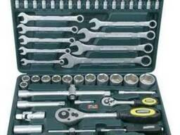 Набор гаечных ключей хромированный от 6 до 32