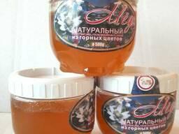 Натуральный горный и хлопковый мед, мед с добавками