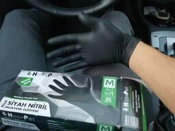 Nitrile gloves. Перчатки. 100 PC. CIF . Акредитив.