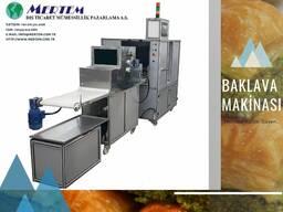 Оборудование для производства пахлавы. Baklava hattı