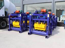 Оборудование для производство шлакоблоков