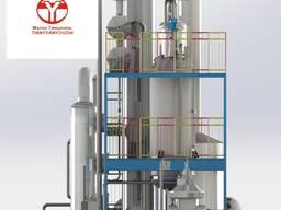 Оборудование для рафинации технического жира и масла