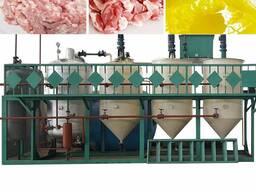 Оборудование для вытопки, плавления и переработки животного жира сырца