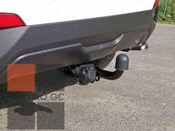 Оцинкованный Фаркоп для Hyundai Creta (грета)