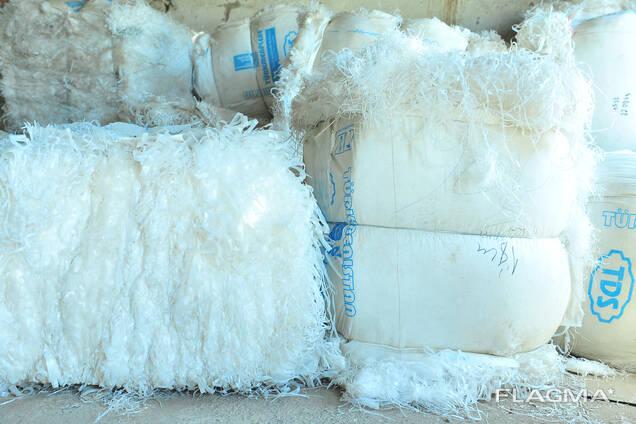 Отходы полиэтиленовых нить