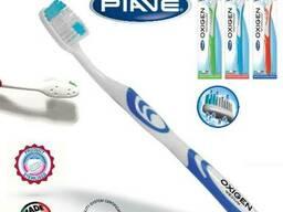 Oxigen technology soft, medium, hard toothbrush