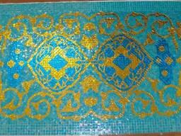 Панно из мозайки для бассейнов саун Узбекистан Ташкент Самар