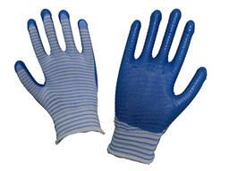 Рабочие перчатки нейлоновые обливные