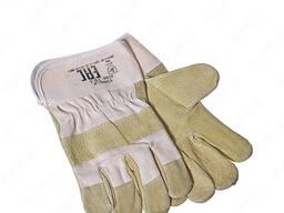 Перчатки сварщика комбинированные (краги) короткий