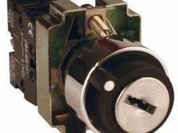 Переключатель в два положения с ключ-замком. DB4-BG21