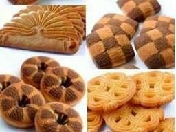 Песочное и галетное печенье