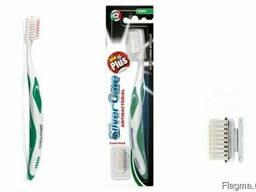 Зубная щёткаPIAVE Plus new soft/medium toothbrush 1 spare h
