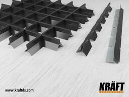 Пирамидальный грильято – вентилируемое решение для потолков