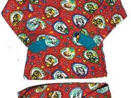 Пижамы детские. текстиль