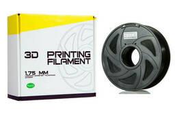 Pla ПЛА пластик филамент для 3д принтера 1,75 черный 1.0 кг