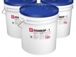 Пламкор-1 - огнезащитный состав для металлоконструкций.