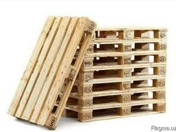 Поддон деревянный 1,10х1,10