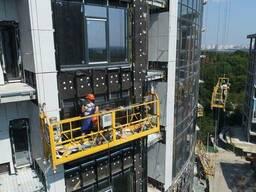 Подъемники фасадные строительный люлька zlp 630 строительный