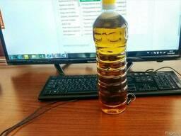 Подсолнечное масло холодного отжима - фото 1
