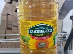 Подсолнечное масло, рафинированное, нераф.
