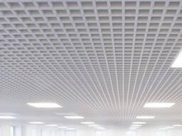 Подвесной потолок грильято - решетчатый