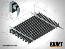 Подвесной потолок на базе кубообразной рейки (КРАФТ Куб)