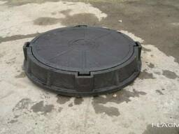 Полимерный люк круглый